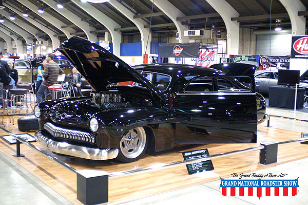 2009 Three Young Guns Award, 2009 Outstanding Overall Custom - 1950 Mercury Two Door Coupe - Scott Bonowski