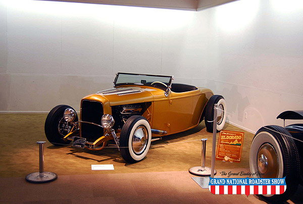 2009 Jalopy Journal Award (Best Roadster) - 1932 Ford Roadster - Tom Branch