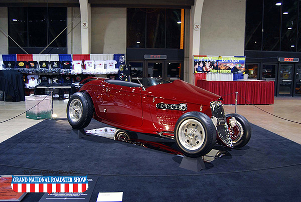 2009 America's Most Beautiful Roadster, AMBR Outstanding Interior Award   - 1933 Ford Roadster - Larry Carter