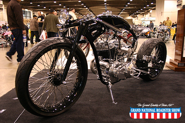 2009 America's Most Beautiful Motorcycle - 2009 Dotson Design Aileron - Christian Dotson