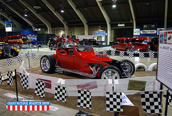 2009 America's Most Beautiful Roadster Outstanding Class Award - 1923 Ford Track T - Bill Holland