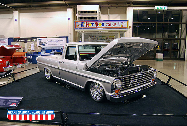 2009 Sweepstakes Award Truck - 1968 Ford F-100 - Kirk Johnson