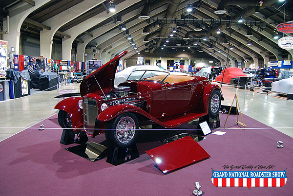 2009 America's Most Beautiful Roadster, AMBR Outstanding Engineering Award   - 1932 Ford Roadster - Jerry Kugel