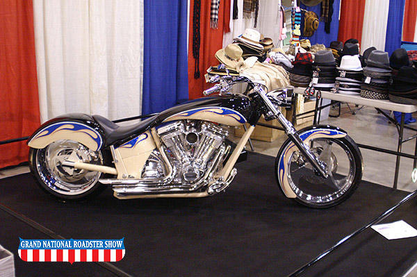 2009 America's Most Beautiful Motorcycle Outstanding Class Award - 2003 Brouhard Custom - Clifford Mattis