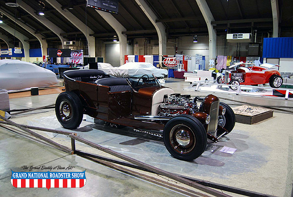 2009 America's Most Beautiful Roadster Outstanding Class Award - 1927 Ford Roadster - Kim Vranas