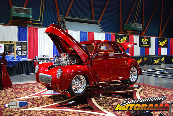 2009 Outstanding Overall Street Machine/Pro Street/Competition - 1941 Willys Two Door Coupe - Joe Bullock