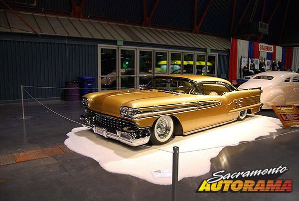 2009 World's Most Beautiful Custom Runner Up, Joe Bailon Award - 1958 Oldsmobile Super 88 - John D'Agostino
