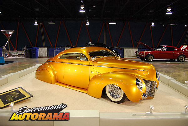 2009 World's Most Beautiful Custom Runner Up - 1940 Mercury Coupe - Brian Everett