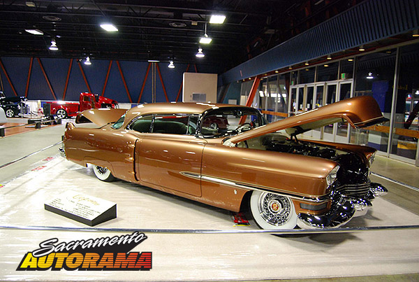 2009 World's Most Beautiful Custom Runner Up, WMBC Outstanding Paint, West Coast Kustoms Award - 1954 Cadillac Coupe De Ville - Robert Gallery