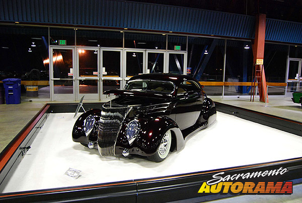 2009 World's Most Beautiful Custom Runner Up, John D'Agostino Kustom D'Elegance Award - 1937 Ford Coupe - James Hetfield