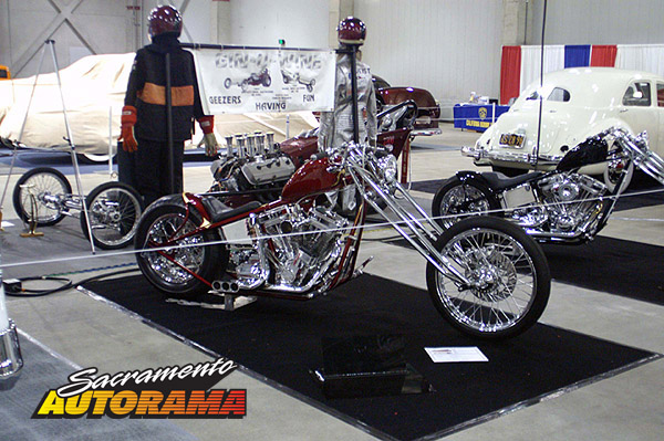 2009 Sweepstakes Award Motorcycle - 2009 Special Construction - Bill Holland