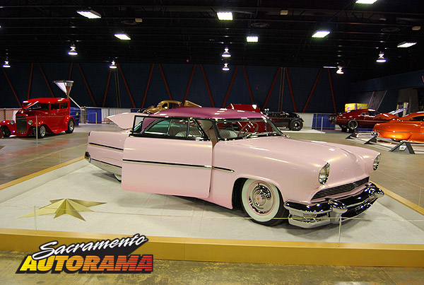 2009 World's Most Beautiful Custom Runner Up - 1955 Lincoln Coupe - Kimberly Mejia