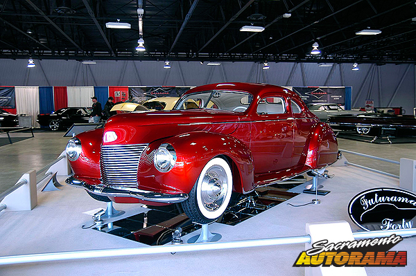 2011 Custom D'Elegance Winner, H.A. Bagdasarian Award - World's Most Beautiful Custom - 1940 Ford Coupe - Doug Beattie
